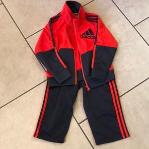 Adidas boys track suit 24 month